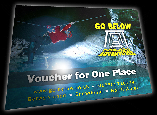 Picture of a Caving Trip Gift Voucher